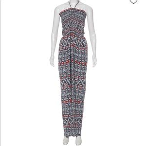 Tory Burch sleeveless jumpsuit, size small